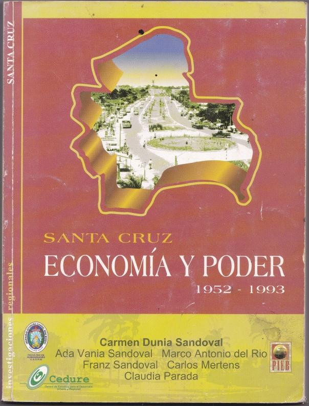 SANTA CRUZ ECONOMIA Y PODER